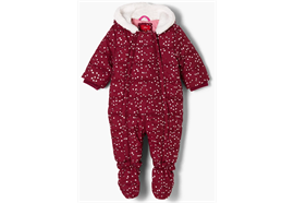 Baby Overall - pink/bunt