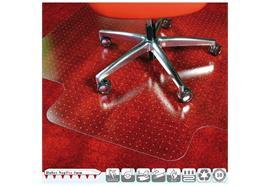 Bodenschutzmatte für Teppichböden - transparent
