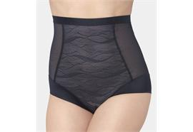 Damen Shape Highwaist Panty - schwarz