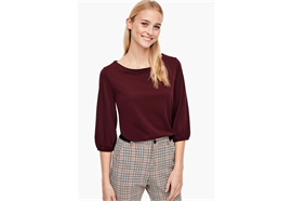 Damen Shirt - bordeaux
