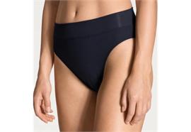 Damen Slip mit Softbund, high waist - weiss