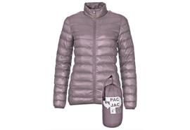 Damen Thermo Jacke - lila