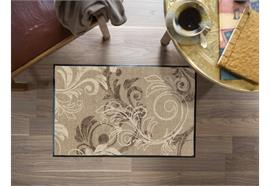Fussmatte Ornament Harmony taupe - beige/taupe