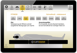 Software Upgrade für iLifeSOMM digital Basic auf Fitness