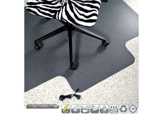Bodenschutzmatte Antistatik - Gr. 92 x 120 cm