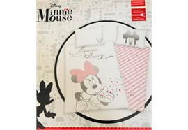 Disney Minnie Mouse Bettwäsche 65/100 + 160/210