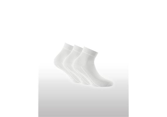 Socken Sneaker Plus 3er Pack - Gr. 43 - 46
