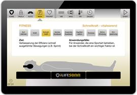 Software Upgrade für iLifeSOMM digital Basic auf Fitness