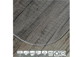 Bodenschutzmatte für Hartböden - transparent
