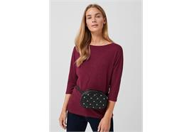 Damen Shirt 3/4-Arm - bordeaux