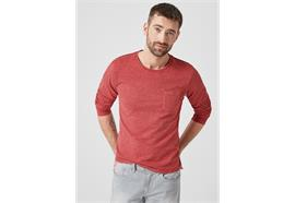 Herren Shirt slim fit - rot