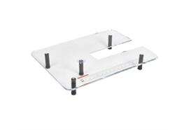 Quiltanschiebetisch aus Plexiglas